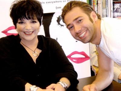 with Liza Minelli